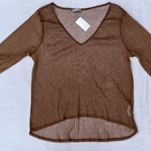 Luxe Blouse Size L